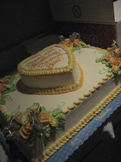 Goldilocks Wedding Cake Design : #9 huge cake toast to friendships ! [EDITED]